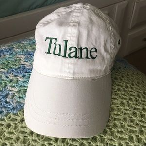Accessories - White Tulane University Hat